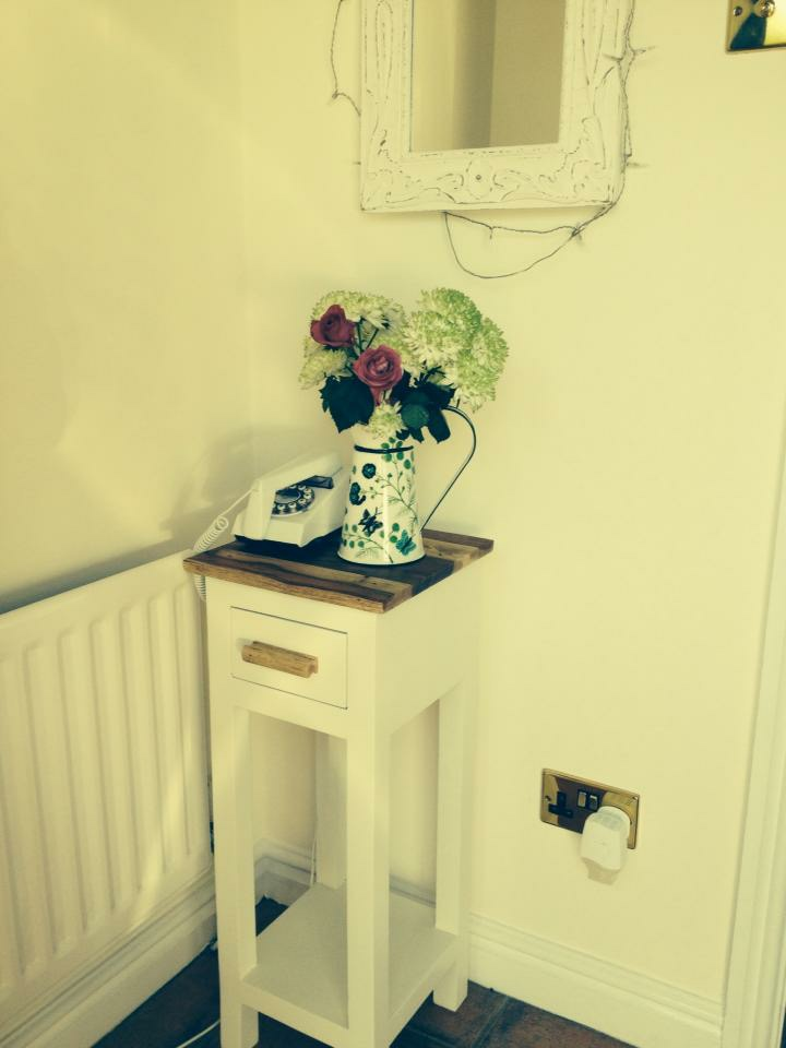 Telephone Table in new home